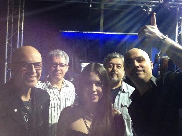 Con Davide Romani e altri musici per Rai5
