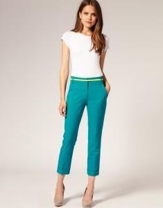 Женские модные брюки классика