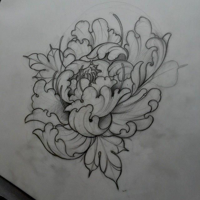 Neo Traditional Flower Tattoo Designs Japanese Tattoo Japanese Tattoo Designs Traditional Tattoo Flowers