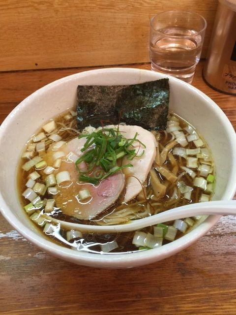 麺や 福一 - 中華そば(しょうゆ)¥750也。