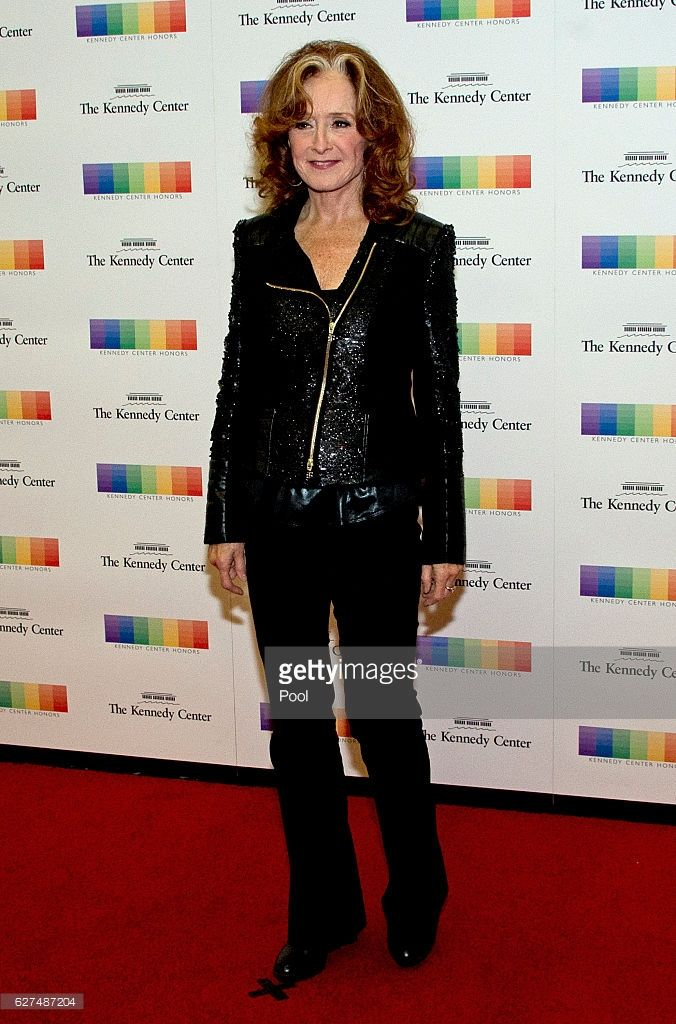 Bonnie Raitt arrives for the formal Artist's Dinner honoring the recipients of the 39th Annual Kennedy Center Honors hosted by United States Secretary of State John F. Kerry at the U.S. Department of State in Washington, D.C. on Saturday, December 3, 2016. The 2016 honorees are: Argentine pianist Martha Argerich; rock band the Eagles; screen and stage actor Al Pacino; gospel and blues singer Mavis Staples; and musician James Taylor.
