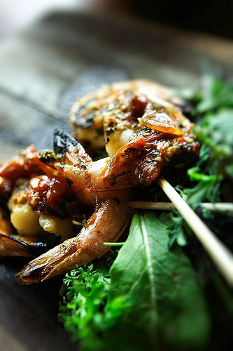 Grilled Shrimp. The Lazy Goat. Greenville, SC.