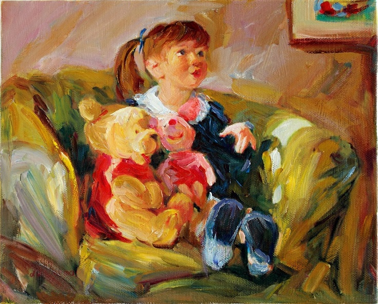Disney winnie the pooh oil painting on canvas art children for Oil painting for kids