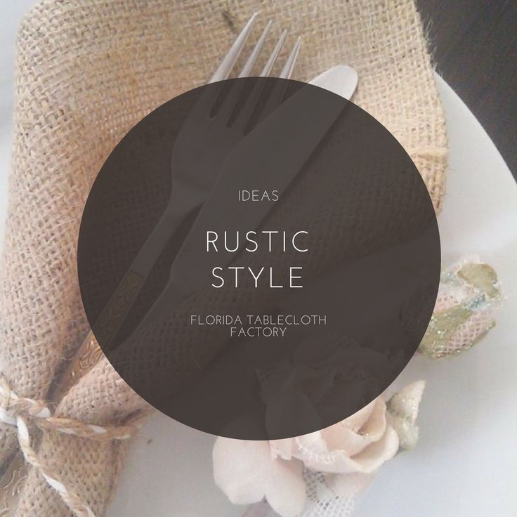 RUSTIC SCENE Are you ready for your next gathering? This #weekend you can surprise your loved ones with a #fancy table presentation. Choose a wooden foundation to set up a neutral #dinnerware with #burlap table #napkins. This combination is great to add a rustic look. #DECOR #IDEAS #STYLE #SETTING #TIPS #RUSTIC #BURLAP #DESIGN #TABLE #FTF