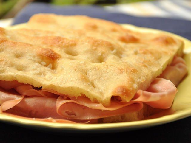 Pizza bianca romana
