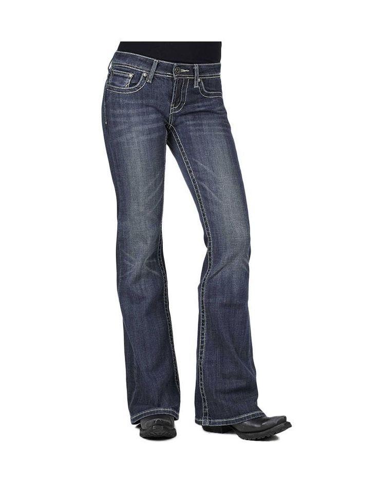 Stetson Western Denim Jeans Womens 816 Fit 11-054-0816-0723 Bu