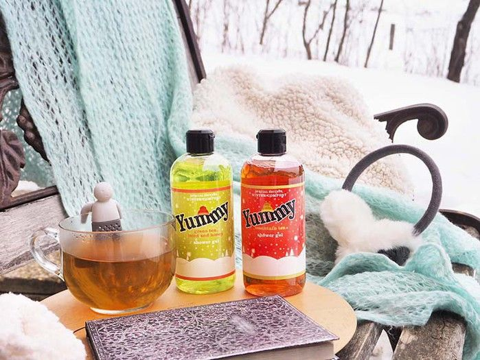 Moje telo - Zimsko čajčkanje z Yummy - Click2Chic Blog