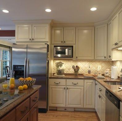 Kitchen Bamboo Kitchen Cabinets Cream Colored Kitchen Cabinets Small  Restaurant Kitchen Design 395x393 Englishu2026