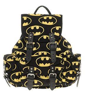 Pretty much my dream backpack  Lazy Oaf Batman Backpack