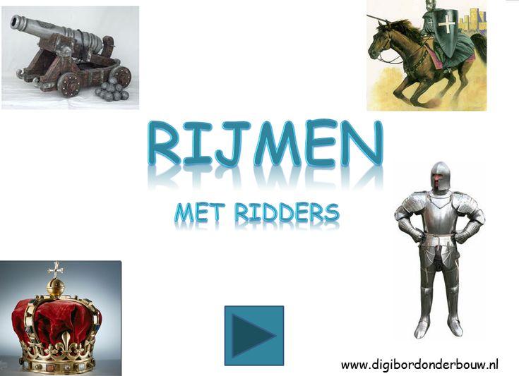 Powerpoint Downloads - Rijmen met ridders