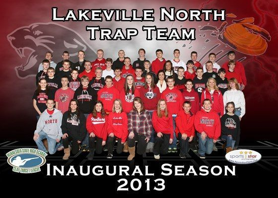 Lakeville North high school use's Gun Mouse in their school colors
