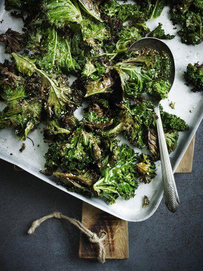 Sesame Roasted Kale | Vegetable Recipes | Jamie Oliver