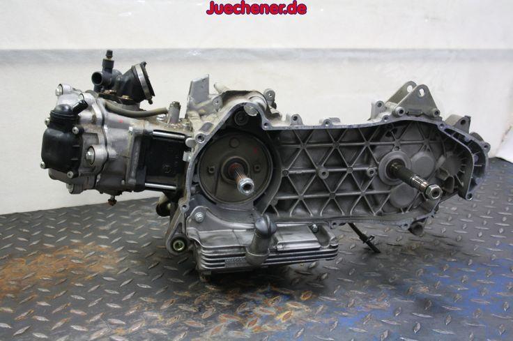 Vespa GTS 125 Motor  #Motor #Triebsatz #Triebwerk