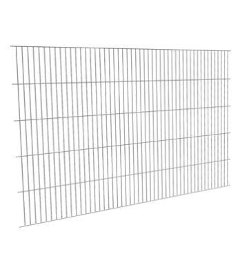 Panel de malla electrosoldada galvanizada