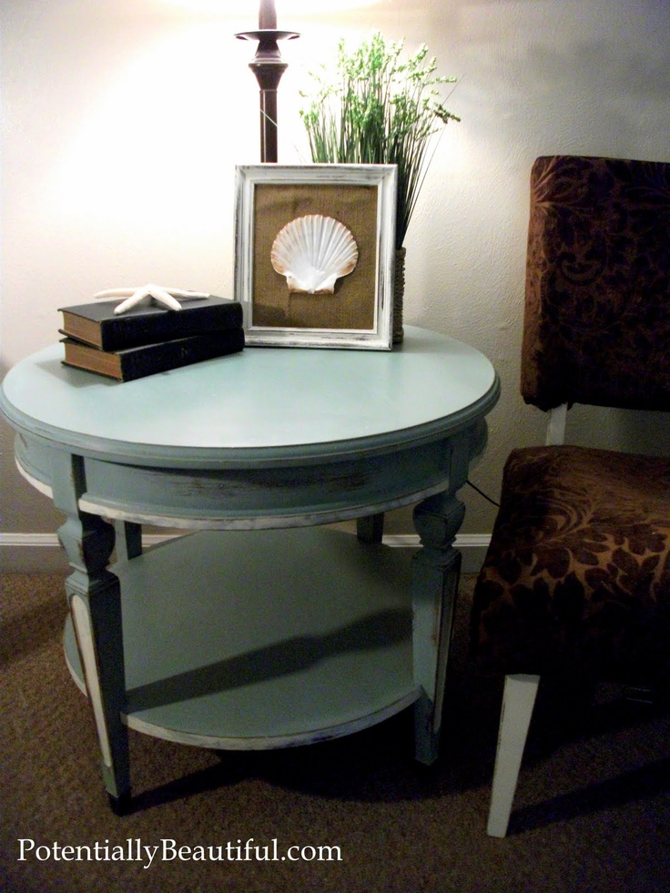 Chalk paint duck egg and old white furniture for Egg designs furniture