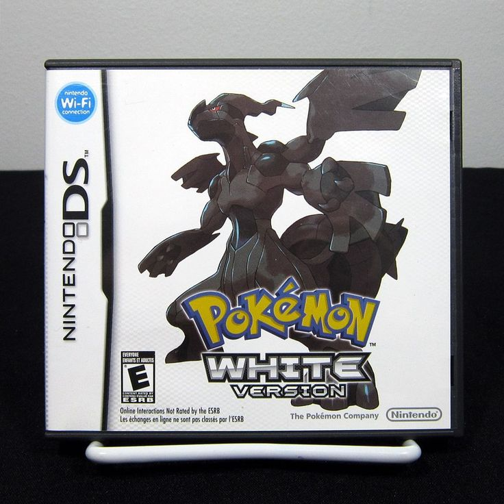 Pokemon: White Version (Nintendo DS, 2011) Complete & Tested | eBay