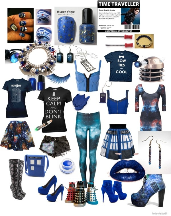 """Dr who"" by ravencryptorchid ❤ liked on Polyvore. Ohhhhbhh! This is gorgeous. Perfection right there <3"