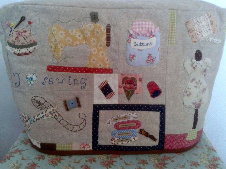 Mejores 70 im genes de m quina coser en pinterest - Proyectos de patchwork ...