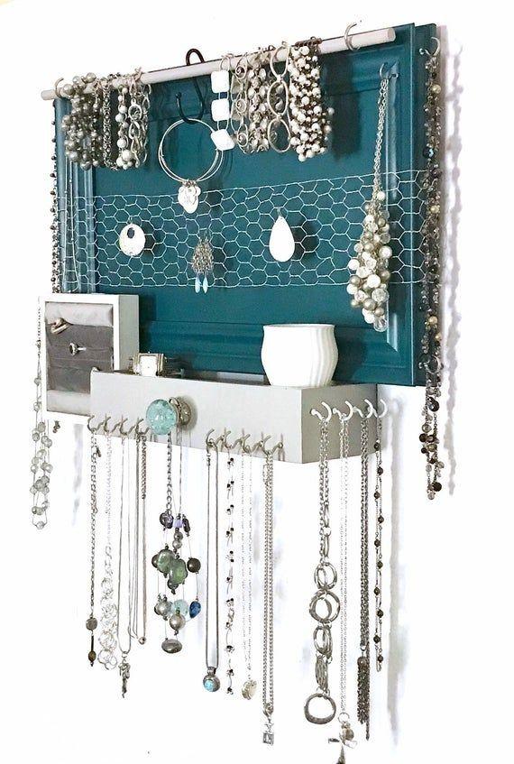 DIY Bedroom Organizer #organizationtips
