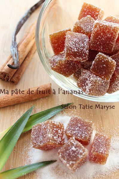 Recette de pâte de fruits de Noël, selon Tatie Maryse