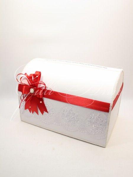 Свадебный сундучок для денег Gilliann Lace Miracle BOX049, http://www.wedstyle.su/katalog/anniversaries/wedding-box-money, #wedstyle, #свадебныеаксессуары, #сундучокдляденег, #свадебныйсундучок, #weddingbox