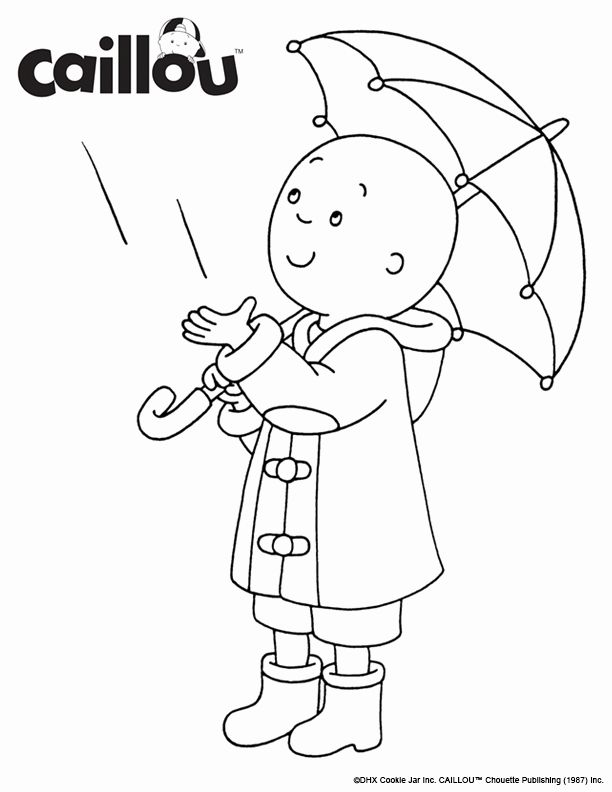 Caillou Christmas Coloring Pages Best Of Print Color Caillou Rainy Day Coloring Sh Printable Christmas Coloring Pages Christmas Coloring Pages Coloring Pages