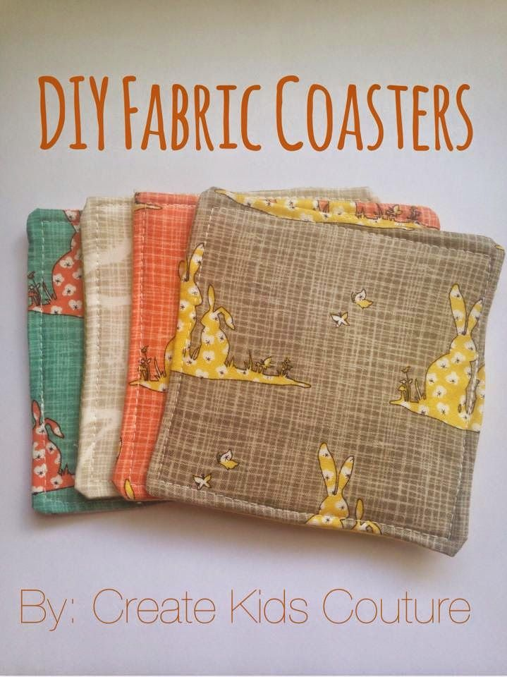 Top 25 Best Fabric Coasters Ideas On Pinterest Quilted