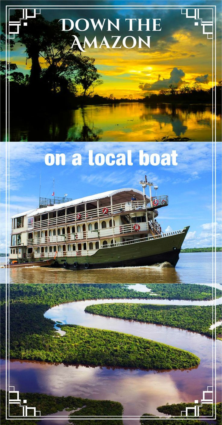 Complete guide to going down the Amazon on a local slow boat, from Leticia (Colombia) to Manaus (Brazil). 5 day trip with all the details, prices, border crossing formalities and things to know beforehand.