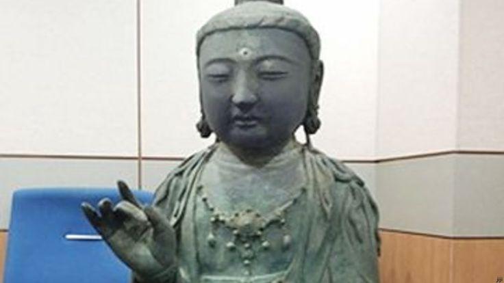 対馬の盗難仏像を韓国の寺へ引き渡せと判決… ユネスコ条約違反に