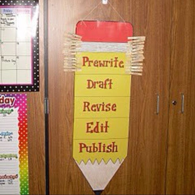 I like the pins to keep track of individual writing  process.