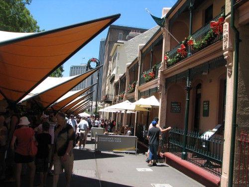 The Rocks (Sydney) markets