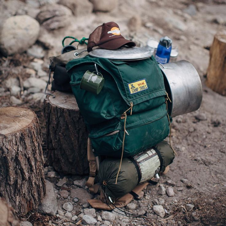 #outdoor #camping #bagpack