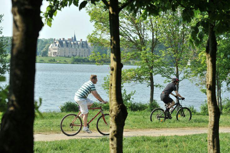 Ballade à vélo au parc de la Chanterie Licence: ©JD Billaud