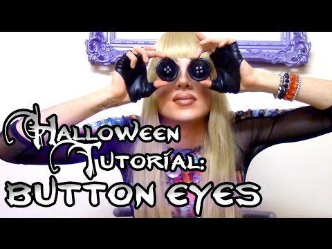 Halloween SFX Tutorial: Coraline Button Eyes - YouTube