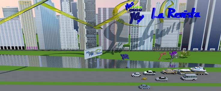 Esta panorámica usa los edificios que se ven desde el mar a la altura de Puerto Madero en Buenos Aires!!!