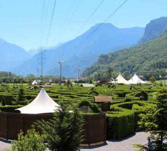 Labyrinthe Aventure Unterwallis Switzerland.