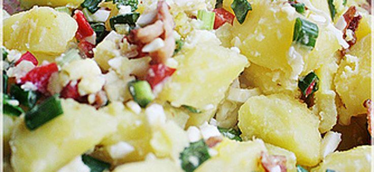Salata taraneasca de cartofi