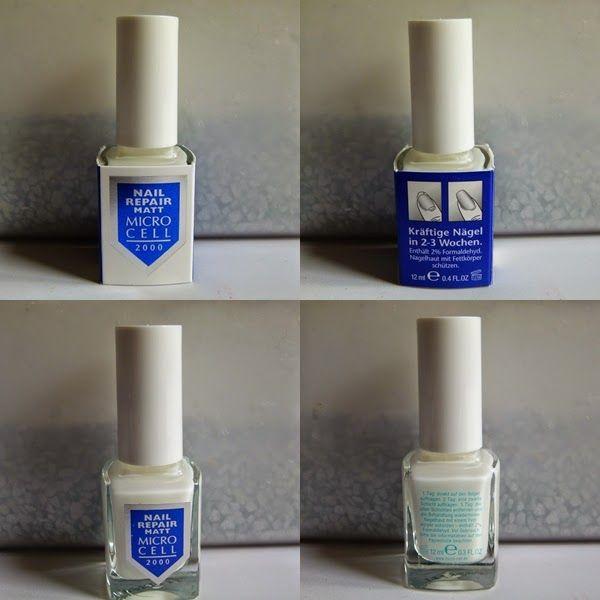 Microcell 2000 Nail Repair matt - mein liebster Nagelhärter und Unterlack http://infarbe.blogspot.de/2014/08/microcell-2000-nail-repair-matt-mein.html