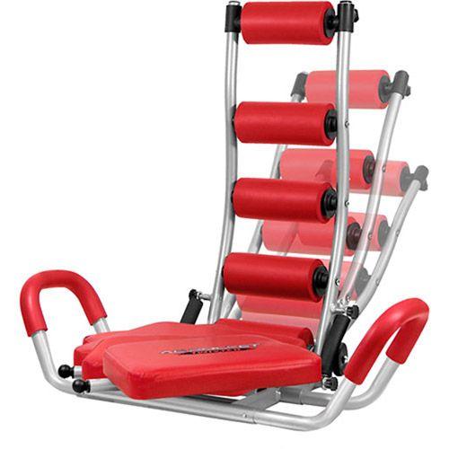 Abdominal exercise machine obliques