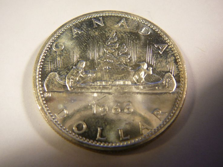 CANADA 1966 SILVER DOLLAR  Price : $14.00  Ends on : 6 days Order Now