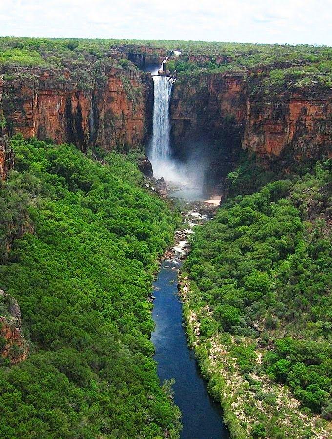 Jim Jim Falls, Kakadu National Park - Kakadu, Northern Teritory, Australia