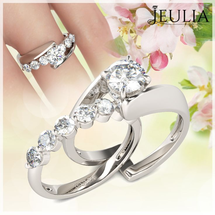 707 Best Images About Jeulia Jewelry Wedding Ring On