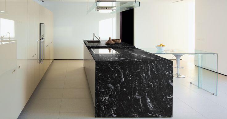 Isla de cocina en granito cheyenne // cheyenne granite island http ...