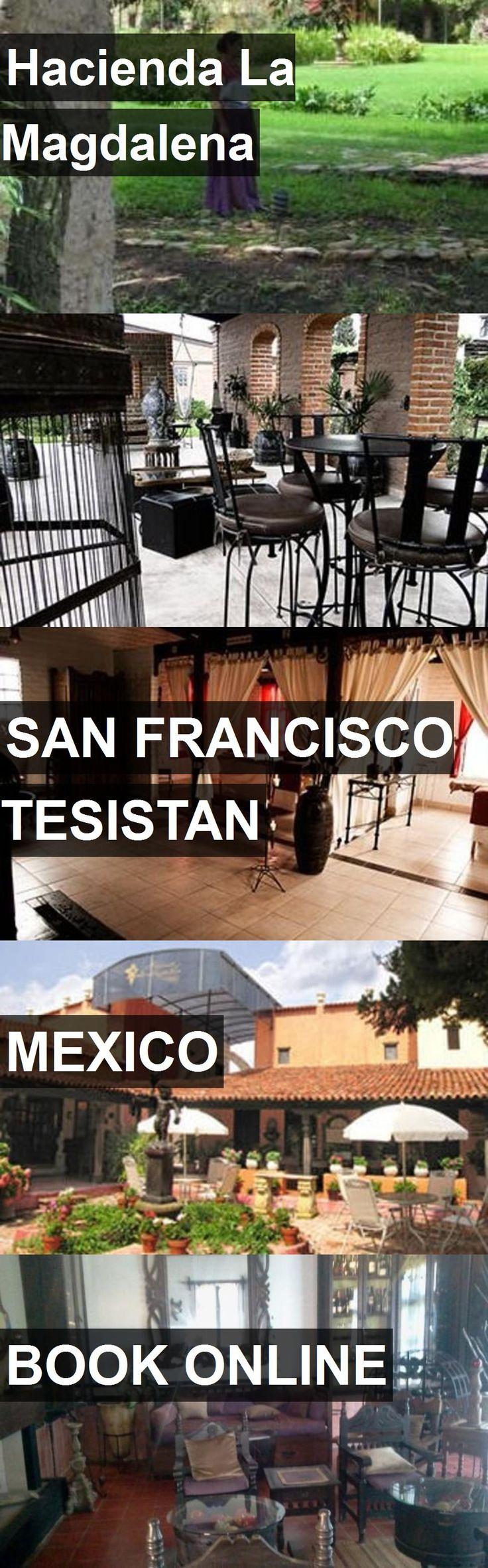 Hotel Hacienda La Magdalena in San Francisco Tesistan, Mexico. For more information, photos, reviews and best prices please follow the link. #Mexico #SanFranciscoTesistan #travel #vacation #hotel