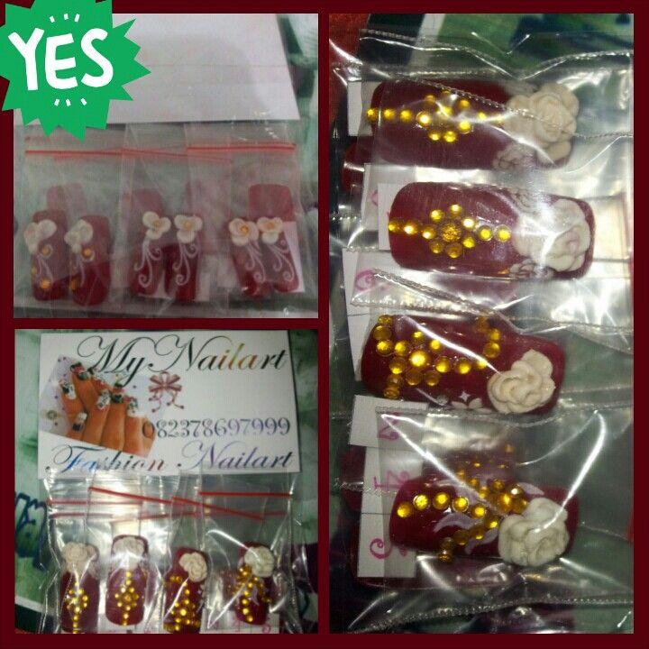 MYNailart nails packing