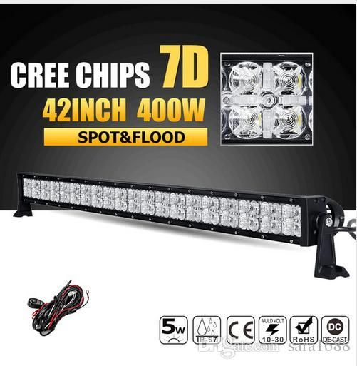 Fancy factory price W inch CREE Chips D LED Offroad Light Bar Spot Flood Beam Combo Led