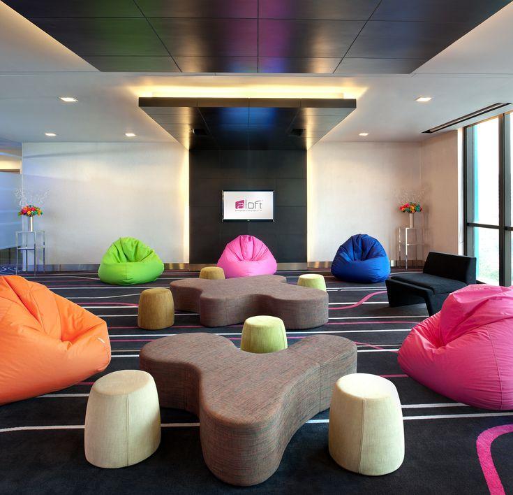 Teen? Tactic II + III, our meeting space, with casual meeting setup @ Aloft Bangkok - Sukhumvit 11