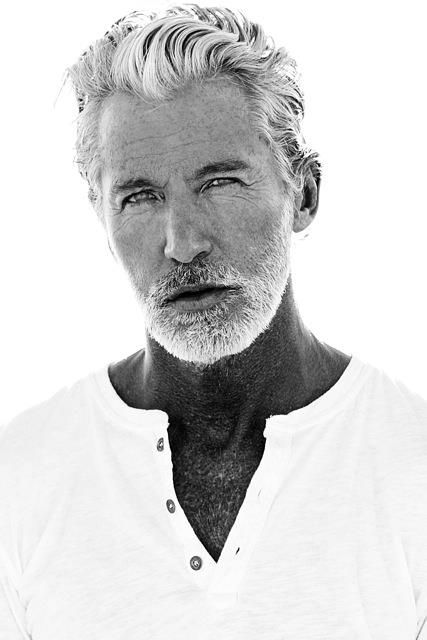Aiden Shaw ~ Can you believe that he's only 47?...I thought maybe he was 58 to 60 years old.  Handsome.
