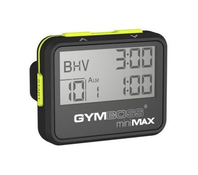 Gymboss Mini Max Timer will keep you on track while training. Ensure an efficient workout http://www.calibrefitness.com.au/weights-barbells-dumbbells-kettlebells/group-fitness-equipment/1705-gymboss-mini-max-timer