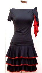 dresses, skirts, tops and pants #latin dance #cocktail #sexy